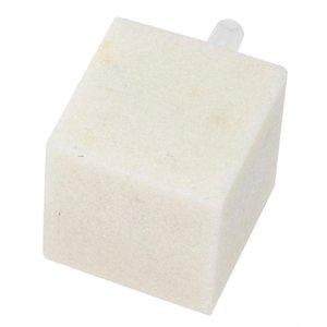Ebi Ebi uitstroomsteen vierkant wit