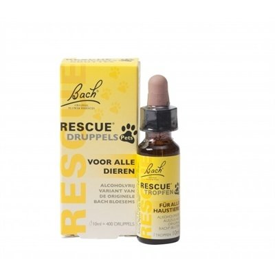 Bach Bach rescue remedy pets druppels