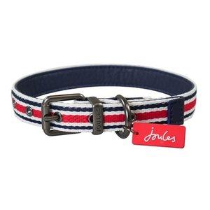 Joules Joules halsband hond coastal gestreept rood
