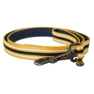 Joules Joules hondenriem coastal navy / geel