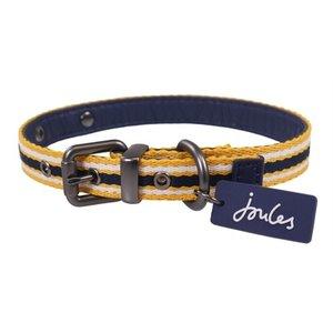 Joules Joules halsband hond coastal navy / geel