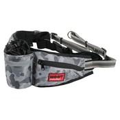 Zolux Zolux moov heuptas met jogginglijn camouflage grijs