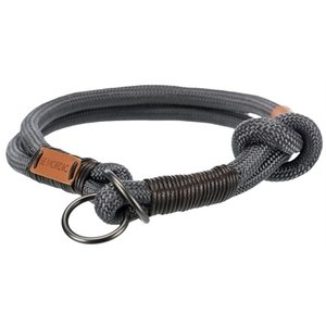 Trixie Trixie be nordic slip halsband hond donkergrijs / bruin