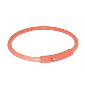 Trixie Trixie halsband light band oranje