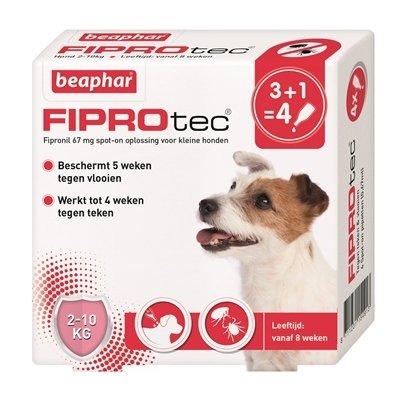 Beaphar Beaphar fiprotec hond tegen teken en vlooien