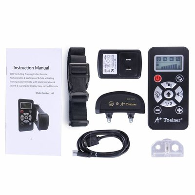 Anti blafband en trainingshalsband 160V - vibratie & geluid