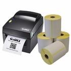 Godex Verzendetiketten starterspakket - Godex DT4X + 4 rollen 100x150
