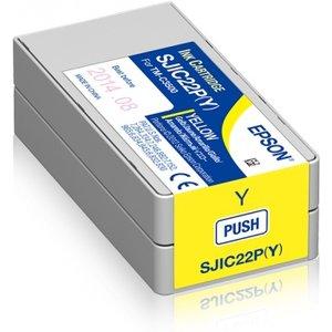 Epson inktcartridge Geel (yellow) voor de EPSON TM-C3500 inkjet SJIC22P(Y)