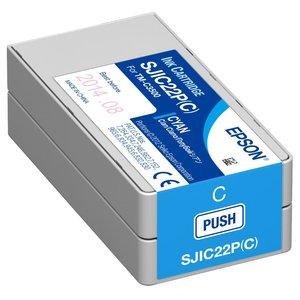 Epson inktcartridge Cyaan voor de EPSON TM-C3500 inkjet SJIC22P(C)