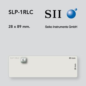 Seiko Instruments, SII SLP-1RLC 28x89mm 130 l/r 1 rol