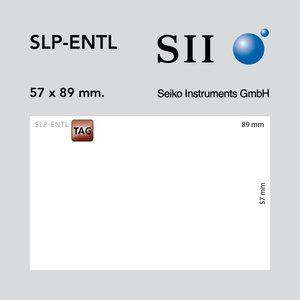 Seiko Instruments, SII ENTL 57x89mm 250 kaarten/rol 1 rol