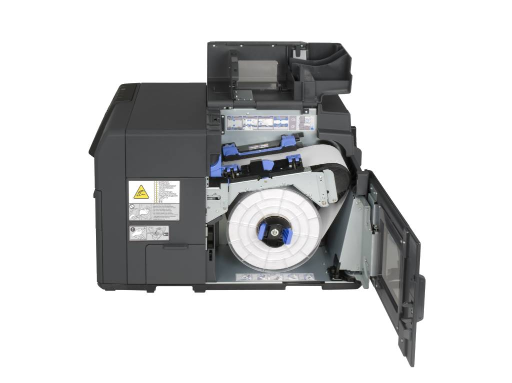 This is a picture of Obsessed Colorworks Securcolor C3400 Inkjet Label Printer