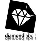 Diamondlabels Diamondlabels DTT04Y papier 100x50mm K25 1000p/r