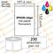 Diamondlabels DIA050 extra mat inkjet papier 102x200mm kern 38 mm voor desktop en midrange labelprinters 170 per rol prijs per 1 rollen