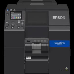 Epson Epson ColorWorks CW-C6000Pe inkjet labelprinter 4 inch breed met peeler