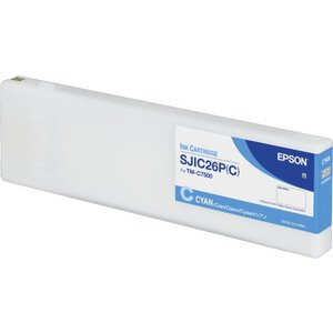 Epson SJIC26P(C) Inktcartridge Colorworks TMC7500 Cyaan (Cyan) C33S020619