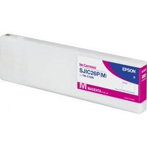 Epson SJIC26P(M) Inktcartridge Colorworks TMC7500 Magenta C33S020620