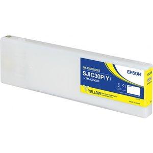 Epson SJIC30P(Y) Inktcartridge Colorworks TMC7500G Geel (Yellow) C33S020642
