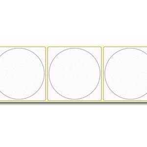 Diamondlabels DIA050 Papier 75x75mm kern 38 mm voor desktop en midrange labelprinters 415 per rol prijs per 1 rollen