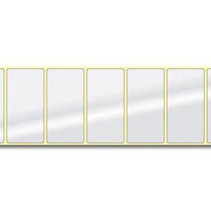 Diamondlabels DIA400 Papier 76x38mm kern 38 mm voor desktop en midrange labelprinters 850 per rol prijs per 1 rollen