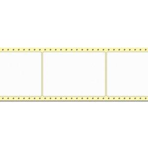 Diamondlabels DIA050 extra mat inkjet papier 105x148mm Fan-fold 1000 per rol prijs per 1 rollen
