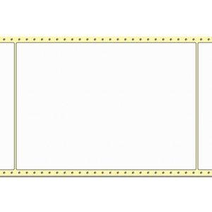 Diamondlabels DIA050 extra mat inkjet papier 210x297mm Fan-fold 500 per rol prijs per 1 rollen