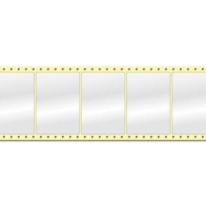 Diamondlabels DIA400 Papier 105x74mm Fan-fold 2000 per rol prijs per 1 rollen