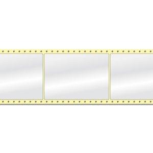 Diamondlabels DIA400 Papier 105x148mm Fan-fold 1000 per rol prijs per 1 rollen