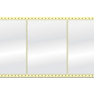 Diamondlabels DIA400 Papier 210x148mm Fan-fold 1000 per rol prijs per 1 rollen