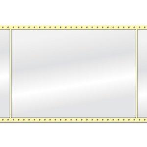 Diamondlabels DIA400 glanzend papier 210x297mm Fan-fold 500 per rol prijs per 1 rollen