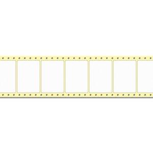 Diamondlabels DIA700 Mat PE 74x52mm Fan-fold 2500 per rol prijs per 1 rollen