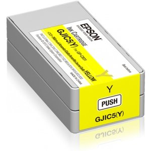 Epson inktcartridge Geel (Yellow) voor de EPSON GP-C831 GJIC5(Y)