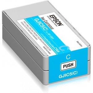 Epson inktcartridge Cyaan (Cyan) voor de EPSON GP-C831 inkjet GJIC5(C)