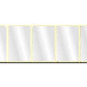 Diamondlabels DIA400 PE 85x55mm kern 38 mm voor desktop en midrange labelprinters 600 per rol prijs per 1 rollen