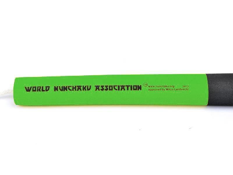 Nunchaku Senior Professional Green