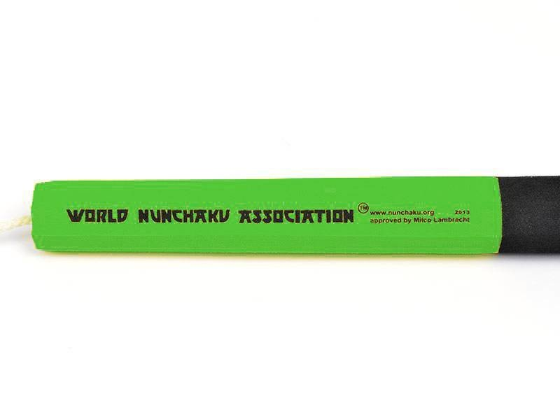 Nunchaku Junior Traditional Green