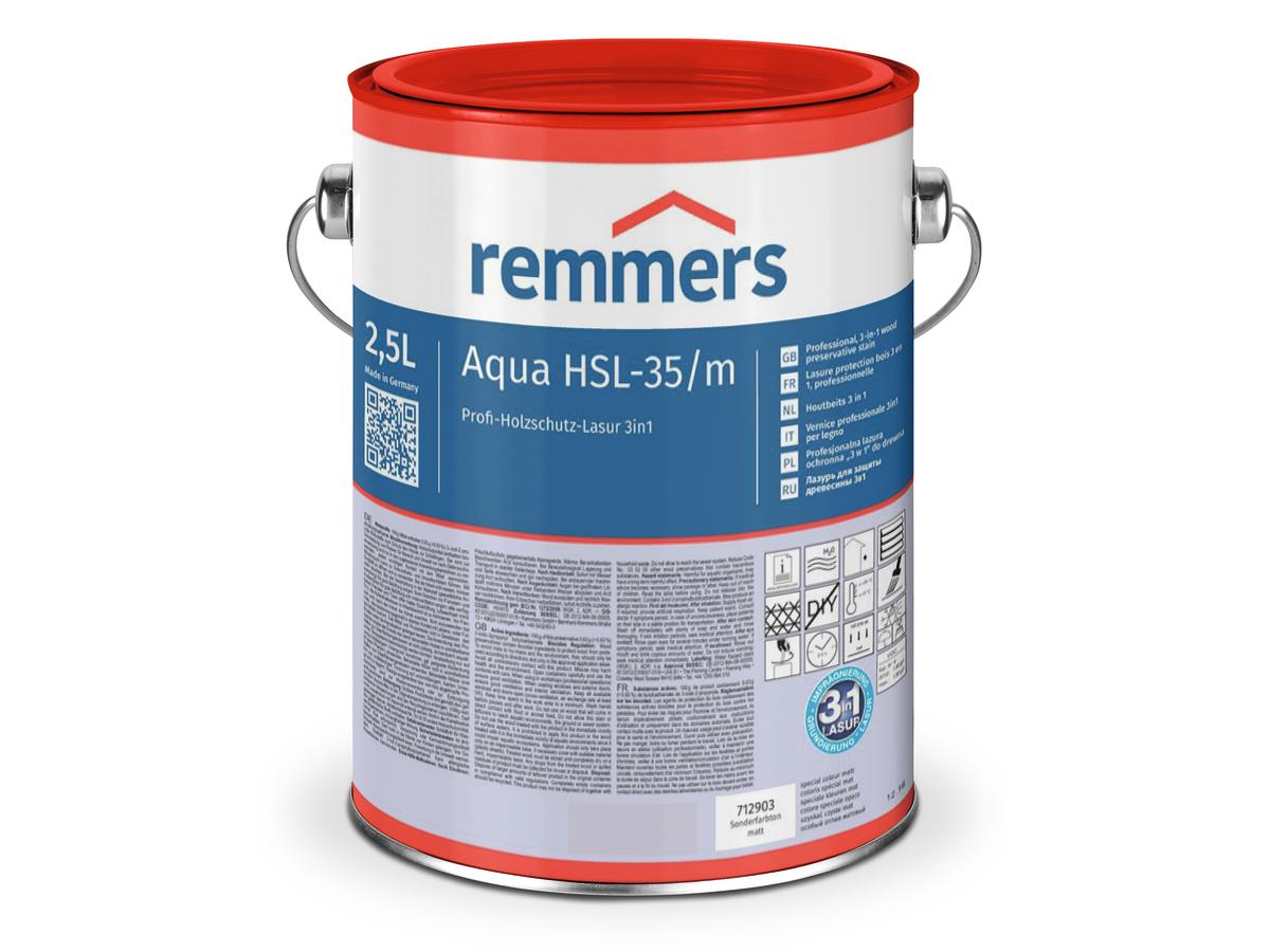 Remmers Aqua HSL-35/m ( Compact-lazuur PU )