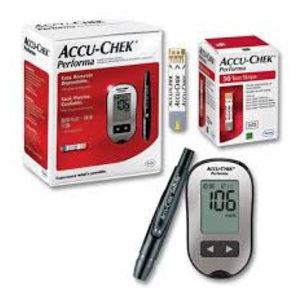 Accu- Chek Performa Meter + Strips