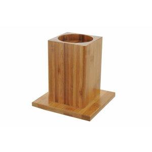 able2 Bamboo bed- en stoelverhogers - 14 cm