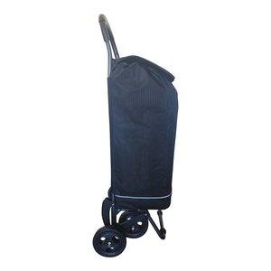 2mobility 2-IN-1 Boodschappenwagen Zwart