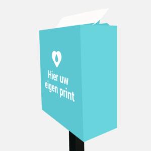 Mobiele tissuebox  eigen ontwerp