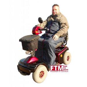 Voetenzak scootmobiel rolstoel (maat borstomvang 160cm)