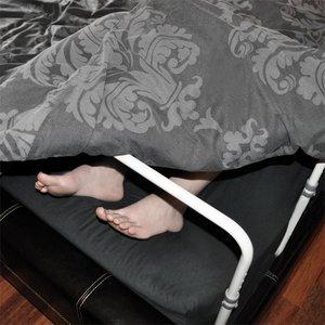 Frame om deken omhoog te houden