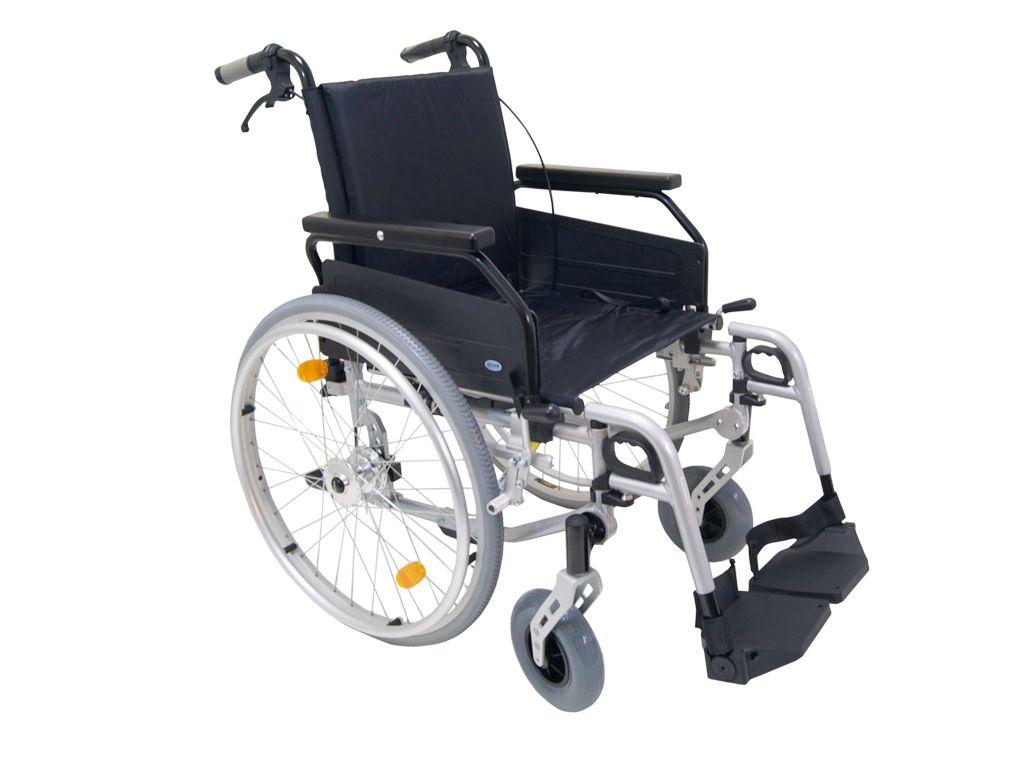 Een rolstoel, betaalbaar en praktisch