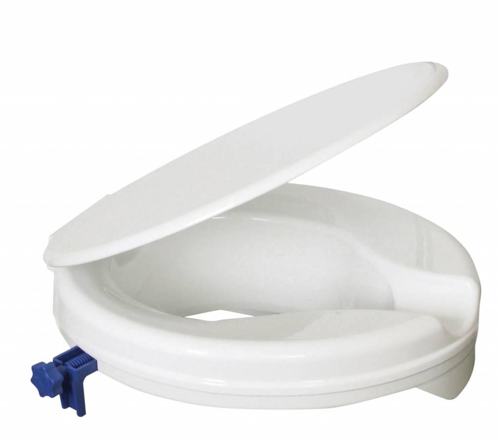 Verhoogde Wc Bril.Toiletverhoger 5 Cm Met Deksel