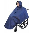 Poncho voor de rolstoel regenkleding