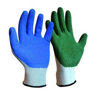 Handschoenen voor het aantrekken van therapeutische elastische kousen