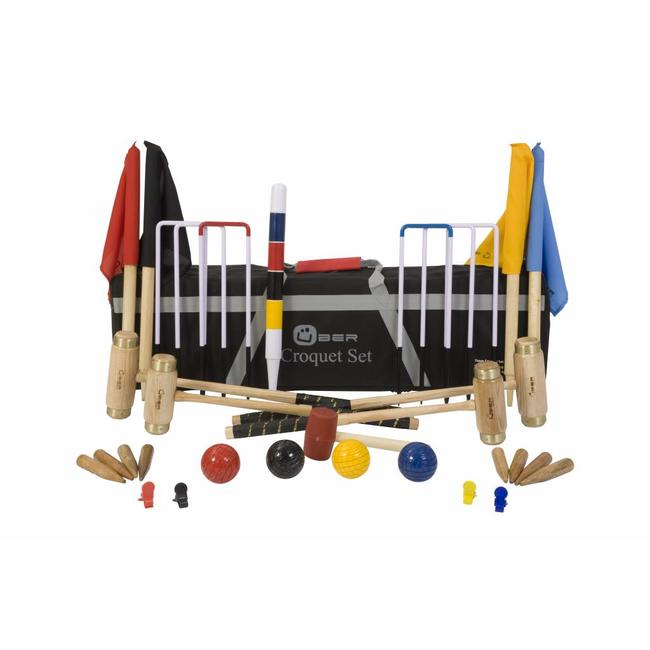 Ubergames Junior Executive Croquet set - High Quality
