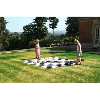Ubergames XXXL Giga Damspel (Checkers, 8x8 vakken)  300x300 cm
