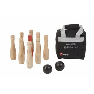 Ubergames Bowling set- Made in India - in nette draagtas
